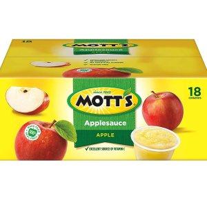 $5.78Mott's Applesauce, 4 Ounce Cup, 18 Count