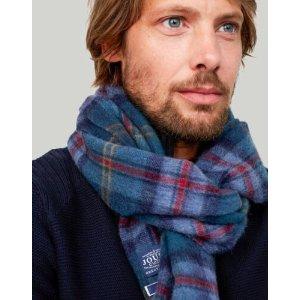 Joules男士格子围巾