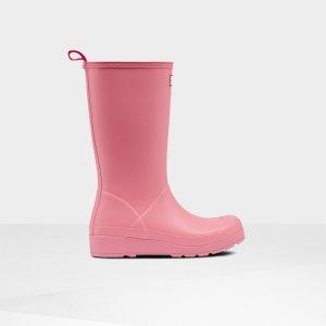 HunterPlay 女款时尚增高雨靴