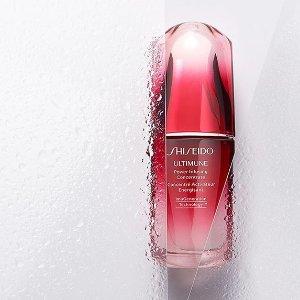 $28收白胖子最后一天:shiseido 彩妆护肤大促 8折入红腰子、新透白精华