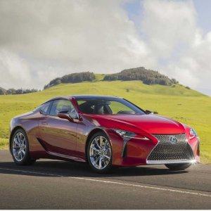 支持Android Auto2021 Lexus LC 跑车小改款