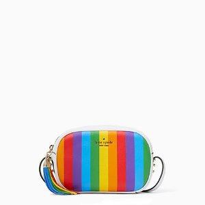 Kate Spadekourtney 彩虹相机包