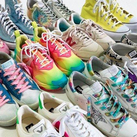 新用户8.5折+直邮中国 好看不撞鞋Shopbop 鞋履福利 Veja、小脏鞋 收匡威刺绣游园系列$92