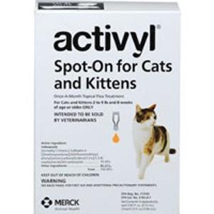 $32.29Activyl 猫咪体外驱虫剂 4剂