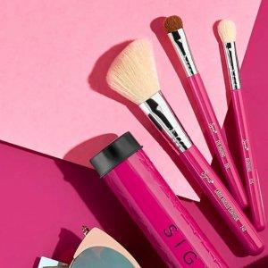 低至6折 + 额外6折  新款套装加入随时失效:Sigma Beauty官网  全场化妆刷热卖