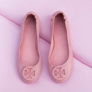 低至7折Tory Burch Minnie Travel 芭蕾平底鞋春季大促