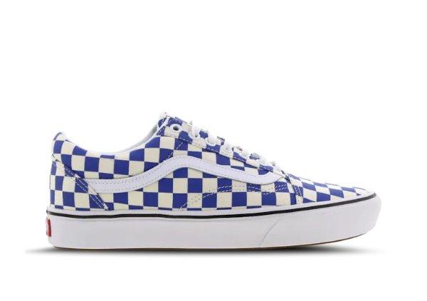 Vans Old Skool 格子滑板鞋