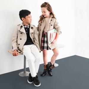 低至6.3折 儿童经典款风衣$569.99即将截止:Burberry 2019秋冬新款服饰鞋履优惠