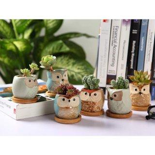 $13.95T4U Ceramic Succulent Planter Pots