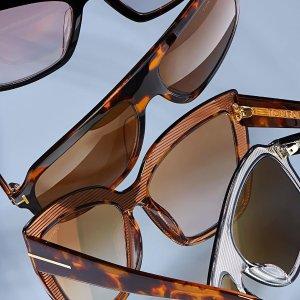 2.5折起 潮酷镜框直减$700+闪购:Tom Ford 眼镜特价闪促 墨镜、光学镜都可收