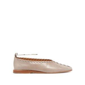 Jil Sander圆环平底芭蕾鞋