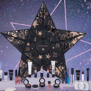 变相4.8折 £129收价值£265封面款星星圣诞日历MAC 官网限量圣诞系列全面上新 圣诞日历有货 想摘下星星给你