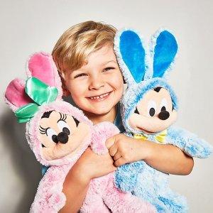 5折 仅€15收Disney 复活节限定玩偶公仔 戴上兔耳朵也认得出你