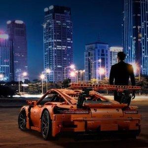 现价 £199(英亚 £259.99)LEGO 乐高 科技系列 42056 保时捷 911 GT3 RS