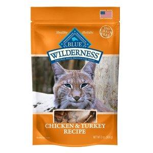 $0.96Blue Buffalo Wilderness Chicken & Turkey Grain Free Cat Treats