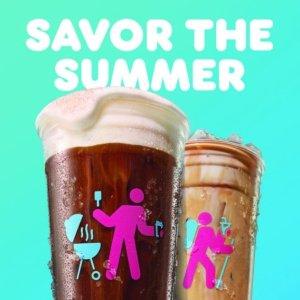 日出咖啡限时优惠仅需$2上新:Dunkin Donuts 限时推出 香草冷酿奶盖咖啡、香草拿铁