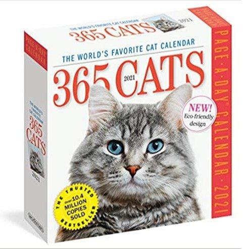 365 海量猫猫2021日历