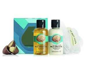 $3The Body Shop Wild Argan Oil Treats Cube Gift Set