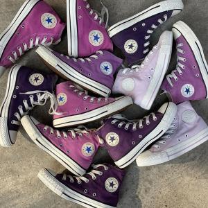 低至3折 帆布鞋£29起折扣升级:Converse 香芋紫粉专场 收葡萄紫、复古Chuck 70、限定款