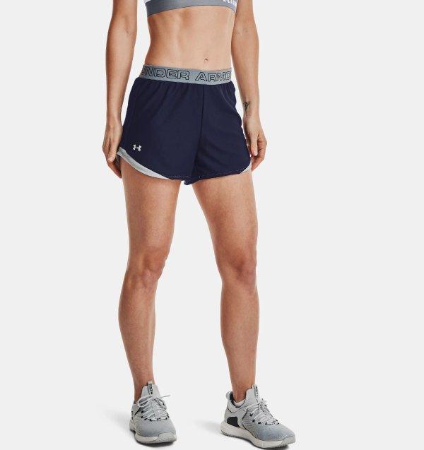 UA Play Up 2.0 女款运动短裤