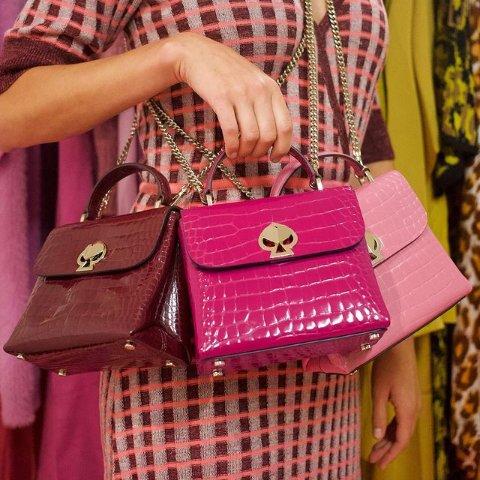 3折起 €159收封面同款包包Kate Spade 轻奢少女品牌热促 包包、配饰、小香风裙子都有