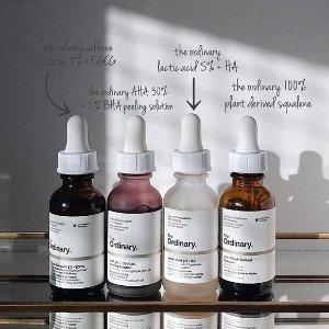满$100立减$20 凑单神器The Ordinary 高性价比护肤品热卖 收生发精华、六胜肽精华