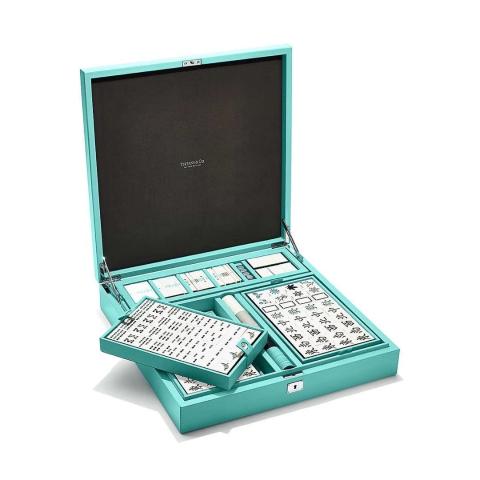 快来瞧瞧人民币味儿的麻将牌全球仅20套的Tiffany麻将套组竟然长这样?