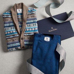 5折 超值超划算Brooks Brothers 精选男士西服外套、毛衣热卖