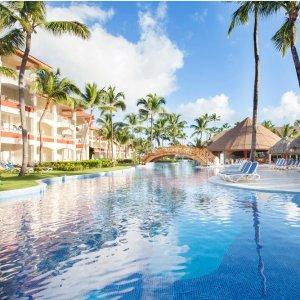 多米尼加 蓬塔卡纳 一价全包度假酒店促销,坐拥高尔夫球场