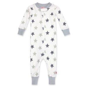 ZutanoStars Organic Cotton Sleeper - Light Gray