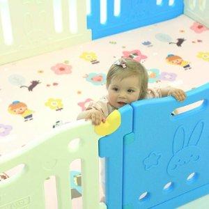 全部7.5折 宝宝安全围栏$150 可折叠桌$29起Baby Care 婴幼儿双面爬行垫、安全围栏、可折叠桌特卖