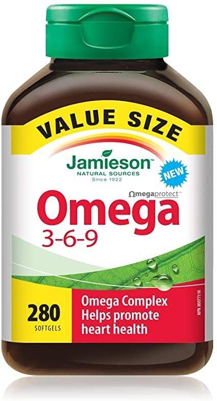 Omega 3-6-9 280粒超值装