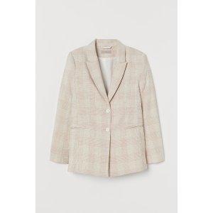 H&M西装外套