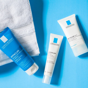 Enjoy a free 4 piece gift setLast Day: on Orders $49+ ($23 value) @ La Roche-Posay