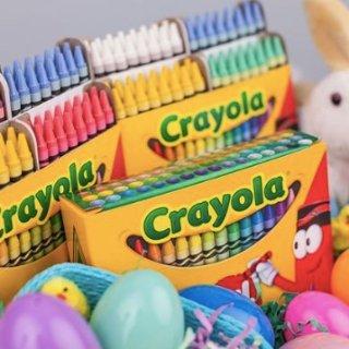 低至5.5折 50色可擦涂彩笔套装$8.84Crayola 儿童涂色彩笔、剪刀套装等特卖