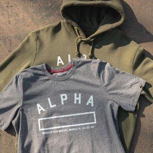 低至7折 £17收经典短袖Alpha Industries 超酷飞行员外套大促 和男票一起搭情侣