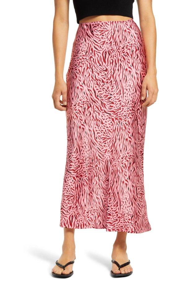 Zebra Bias半裙