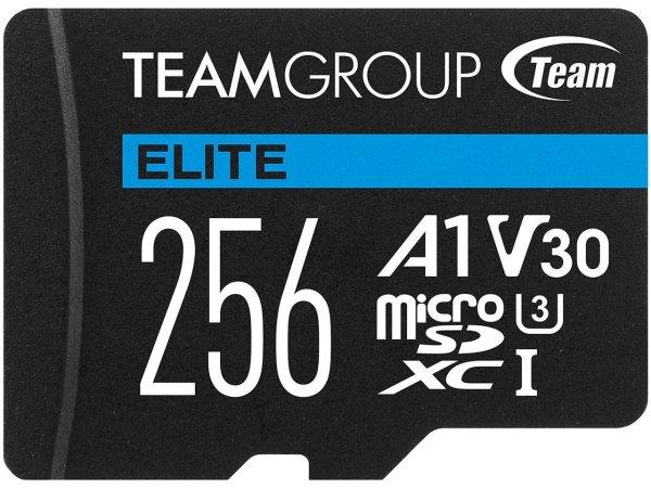 Elite 256GB U3 A1 V30 microSD存储卡