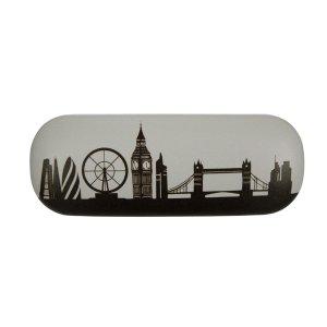 英伦图案眼镜盒
