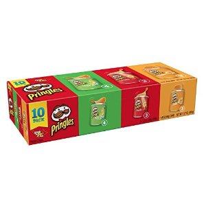 PringlesPringlesPotato Crisps Chips,13.7 oz (10 Cans)