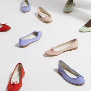 5折起 法风必备红色芭蕾鞋$294Repetto 优雅又好穿的芭蕾美鞋 乐福鞋$317