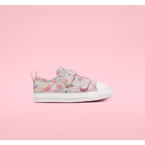 Llama Party Hook and Loop Chuck Taylor All Star Toddler Low Top Shoe. Converse.com