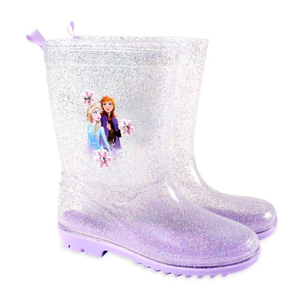 Frozen 2 图案 雨鞋