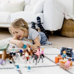 5.7折起Playmobil 拼搭玩具 收消防车套盒 骑士寻宝套装$14