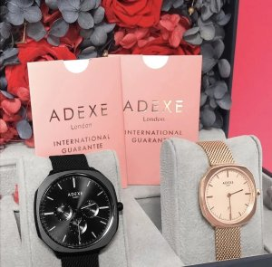 ADEXE Square Twin Set - Flower Box