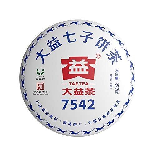 经典7542生茶饼 357克