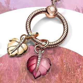 moments手链+2串珠=£99 相当于8折Pandora 官网 乐享自由搭配 DIY礼物套装热卖 ing