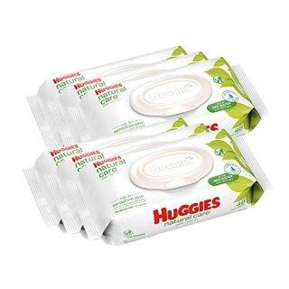 $7.54(原价$11.99)史低价:HUGGIES 婴幼儿无香型湿巾,6包共288抽