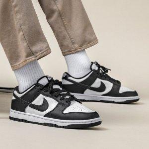 NikeDunk Low 熊猫配色