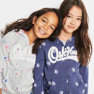 低至4.2折OshKosh BGosh 儿童新款卫衣卫裤优惠 经典款回归